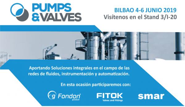 International Trade Show PUMPS & VALVES BILBAO 2019